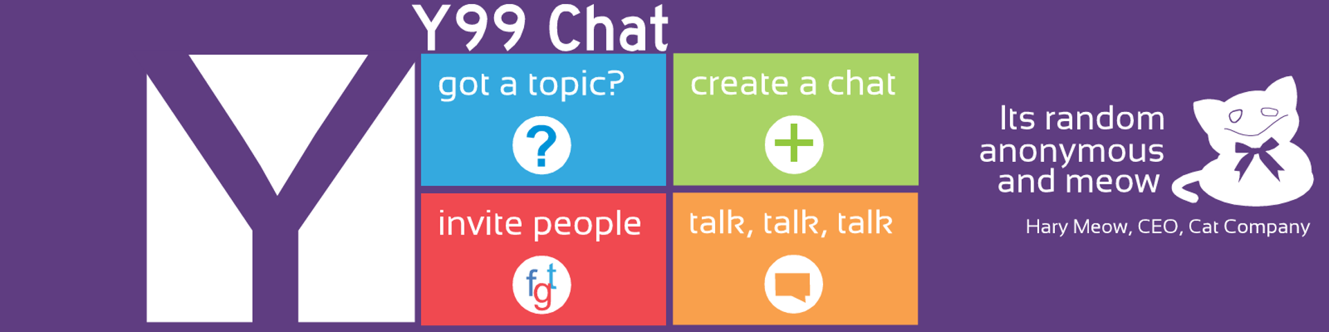 Create chat room at y99